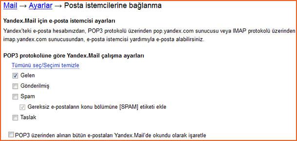 Yandex Mail Ayarları Makale İçi 01